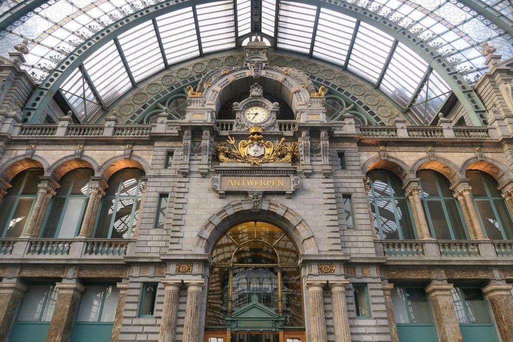 Antwerp Railway station, Antwerp, Belgium.