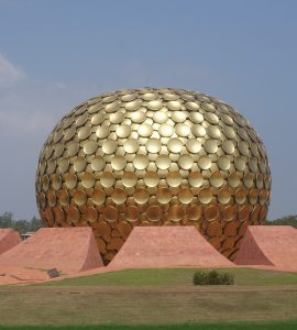 Auroville Golden Globe