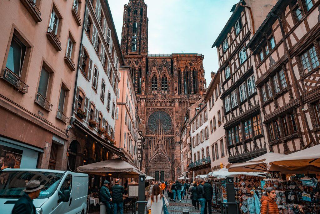 Strasbourg Cathedral, Strasbourg, France.