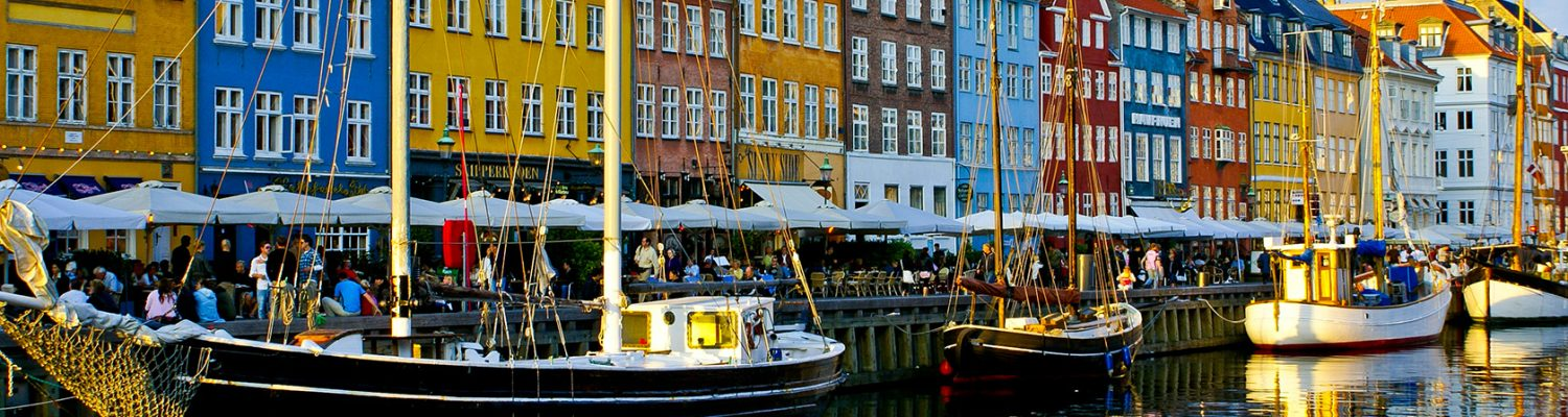 colourful buildings of Copenhagen
