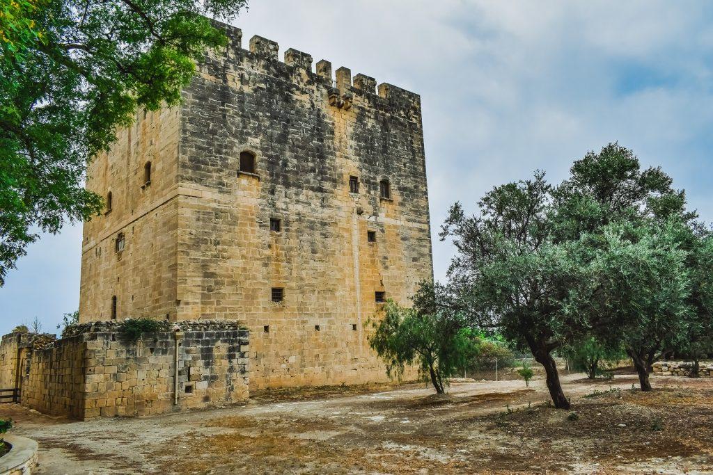 Kolossi Castle view