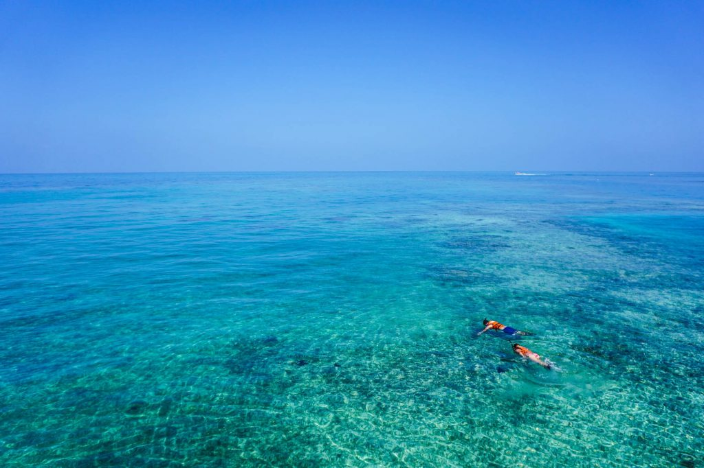 Snorkelling water activity in Andaman