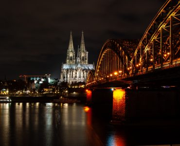 Cologne in the night