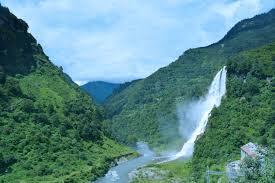 The beautiful Nuranang Falls
