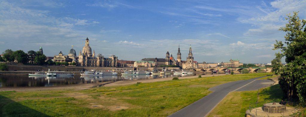 Dresden Elbe View