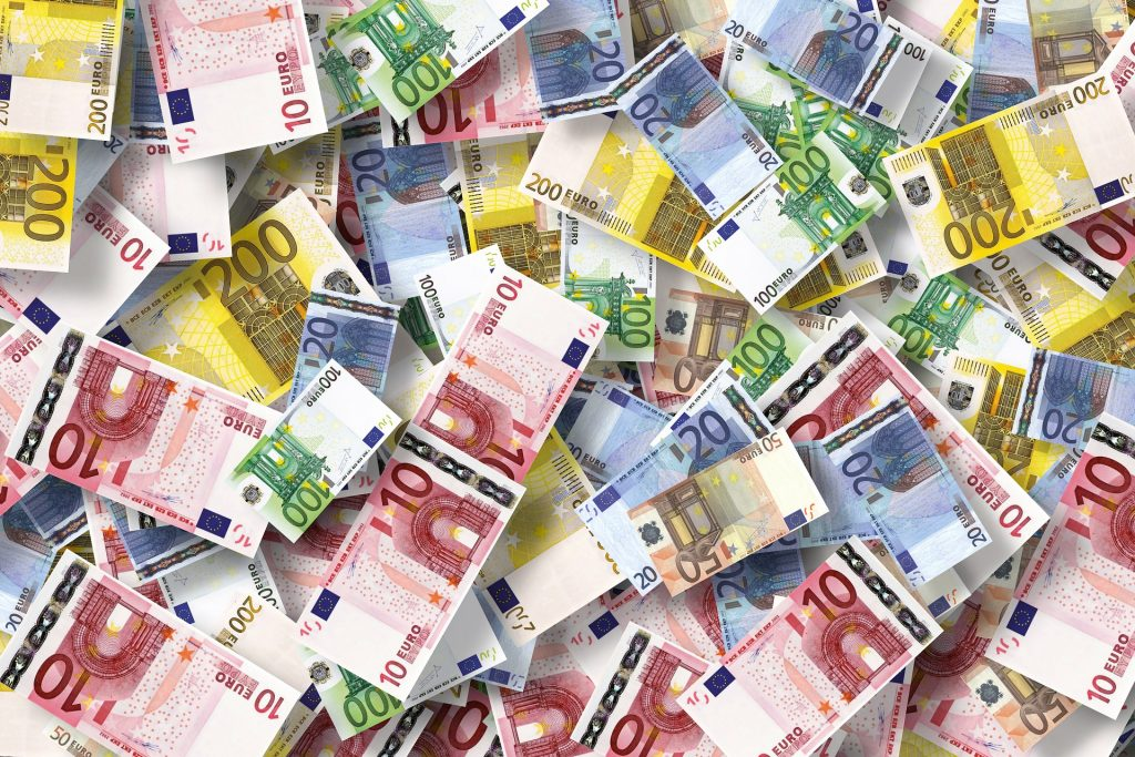 Economy Euro Currency
