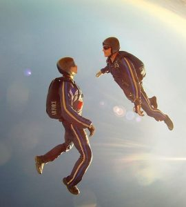 Skydiving in Germany