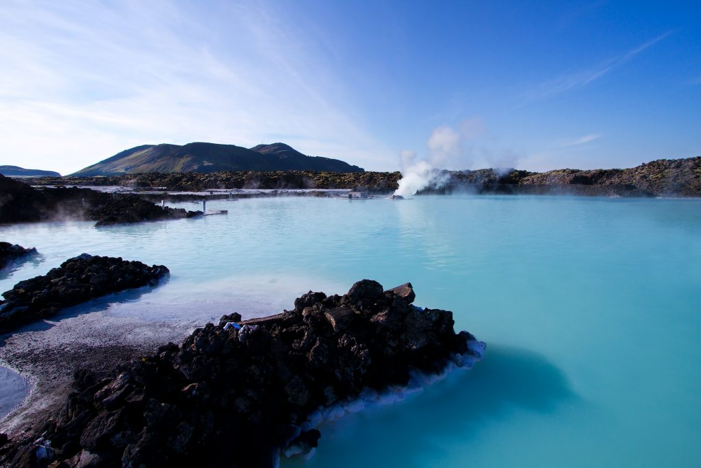 The Geo thermal spa in Blue Lagoon, Reykjavik