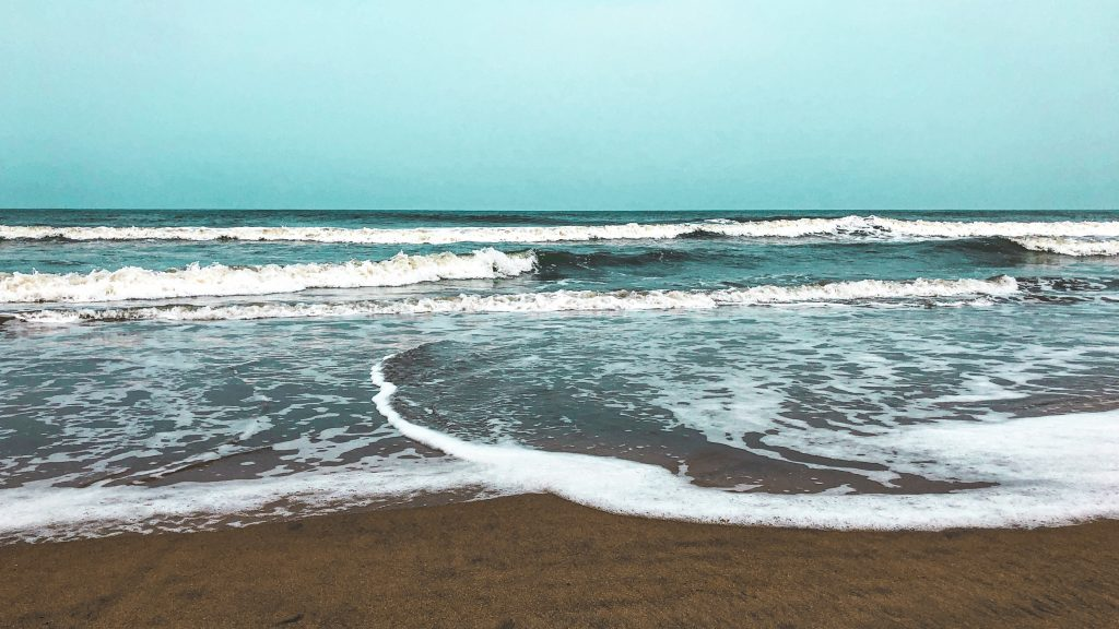 Beach in Varkala