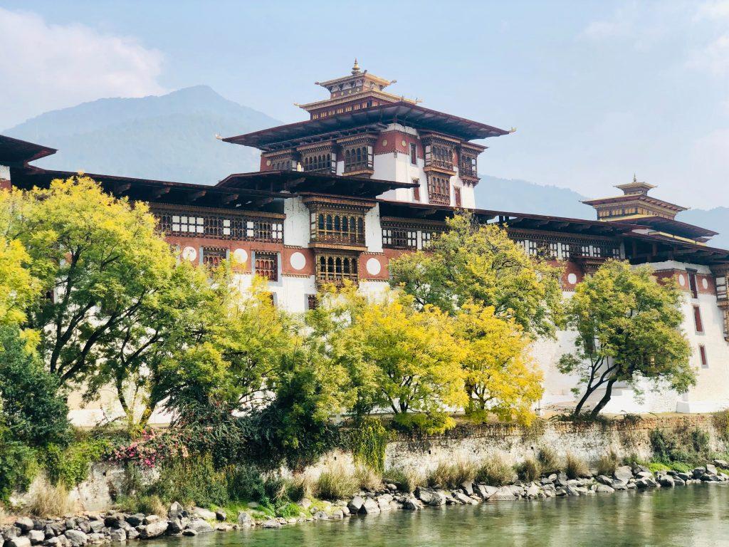 The Phunaka Dzong, Thimpu