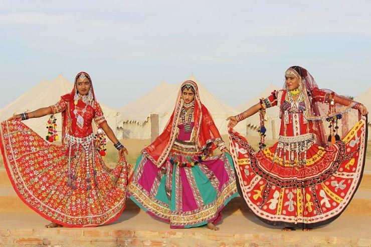 Kalbeliya dance performed by local women