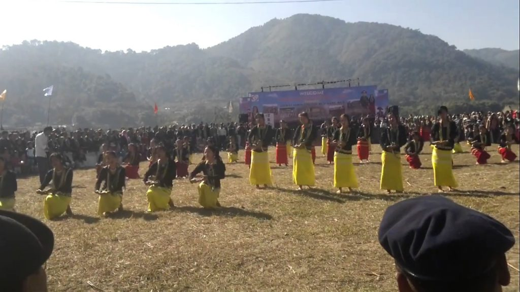 The Siang river festival in Arunachal Pradesh