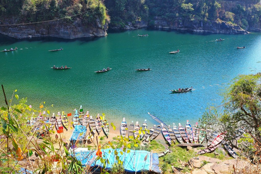 The beautiful Dawki in Meghalaya