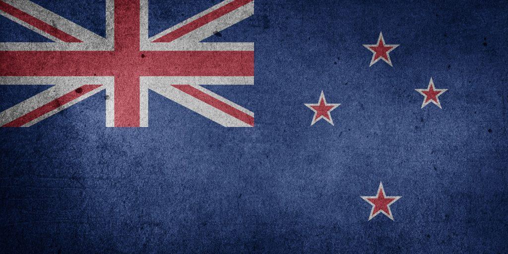 New Zealand Flag Asia