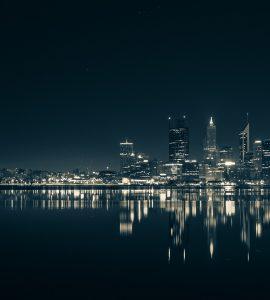 Panaromic view of Perth