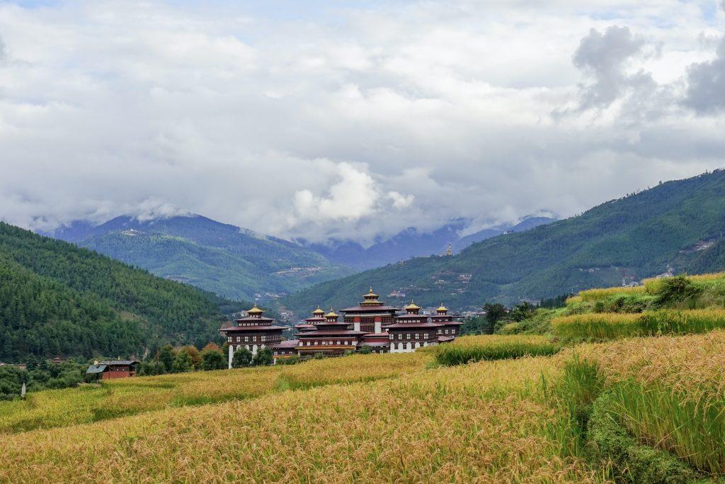 The capital Fortress of Bhutan