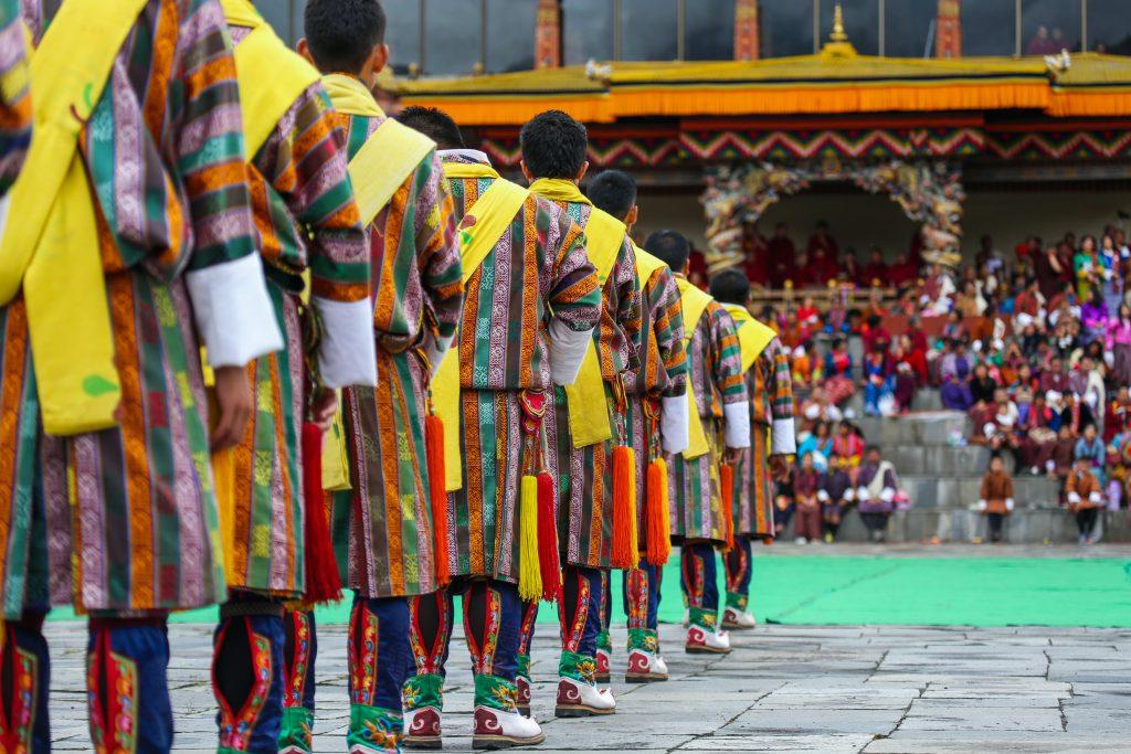 Thimpu Tsechu Festival at the Dzong