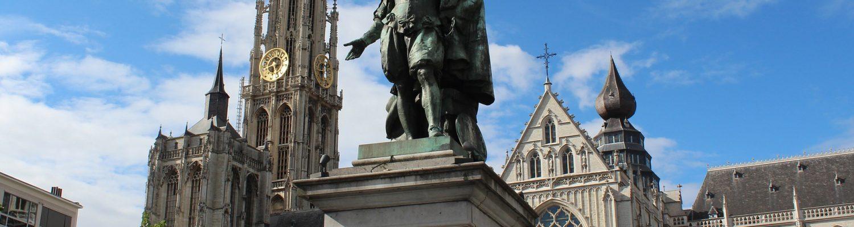 Petro Paulo sculpture in Antwerp