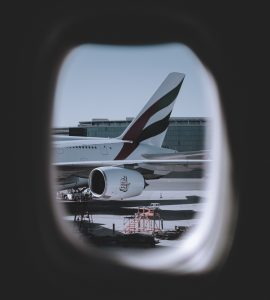 Image of a flight in Dubai