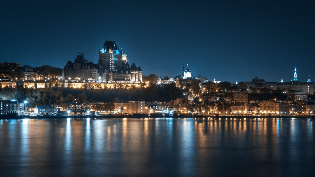 A picture that was taken in Quebec city, one of the best cities in Canada