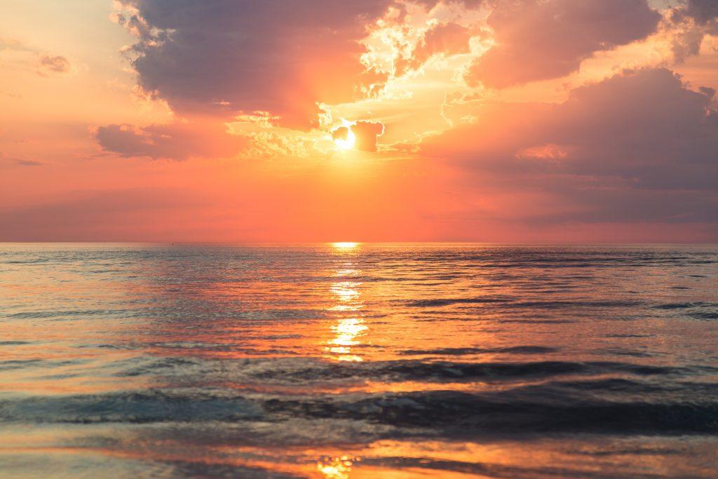 Beautiful Sunrise at Andaman
