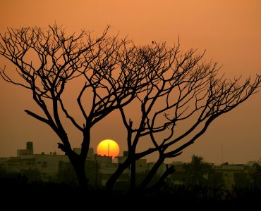 Sunset view in Bangalore