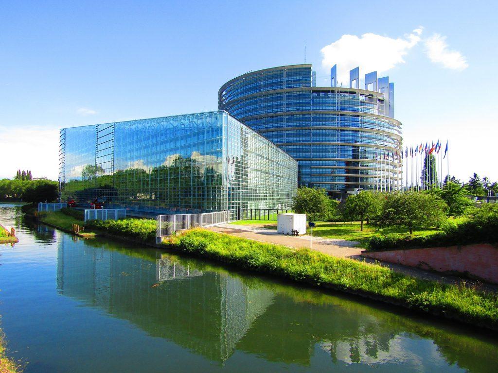 The European Parliament, France.