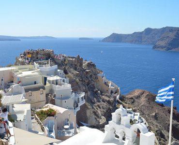 Seaside fort in greece