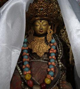 Buddha Figure in Yiga Choling Monastery