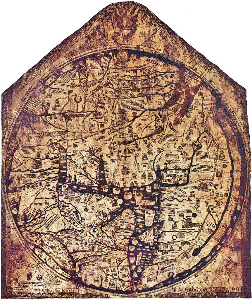 Mappa Mundi, Hereford
