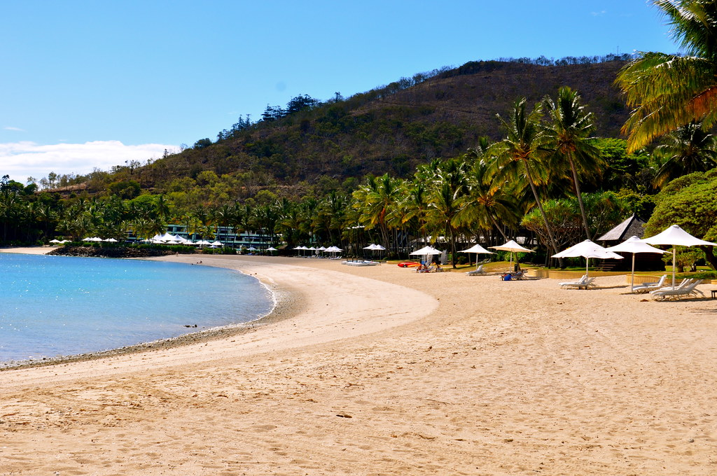 A beautiful view of the Hayman Island