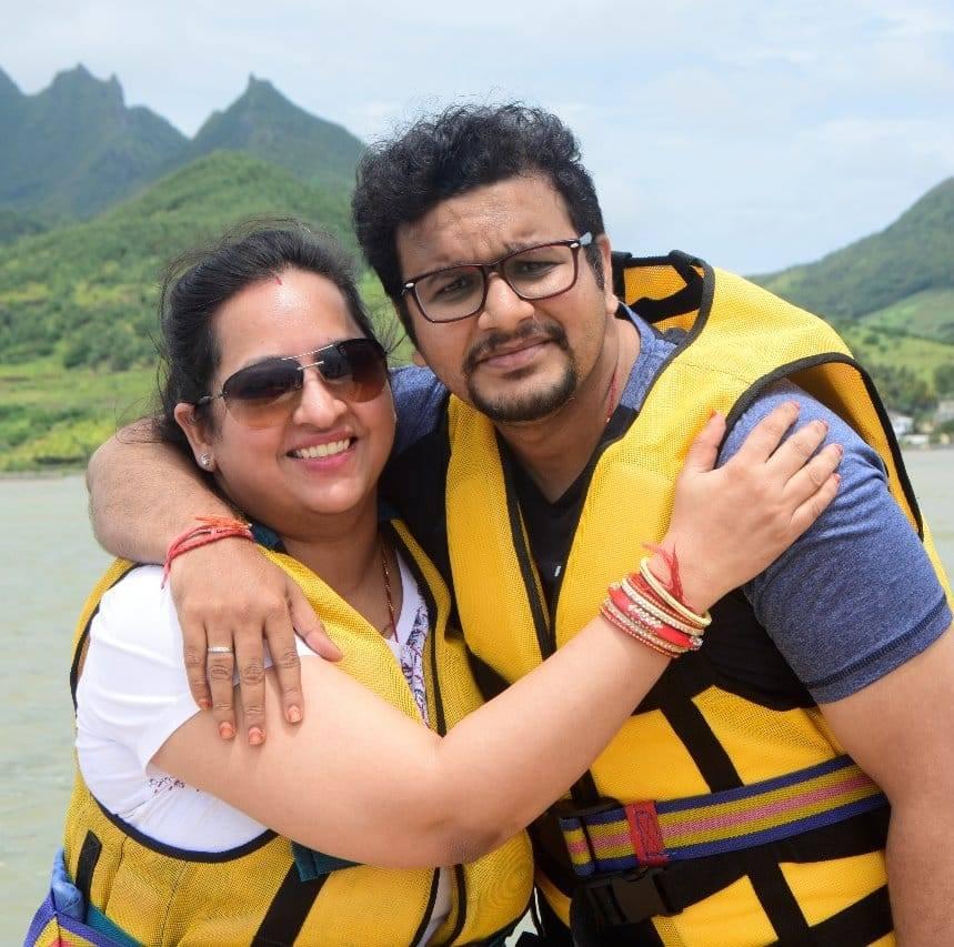 During Ile aux tour in Mauritius