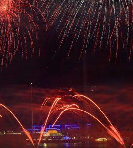 New Year in Abu Dhabi