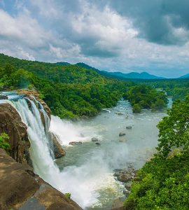 Athirapally Falls in Kerala