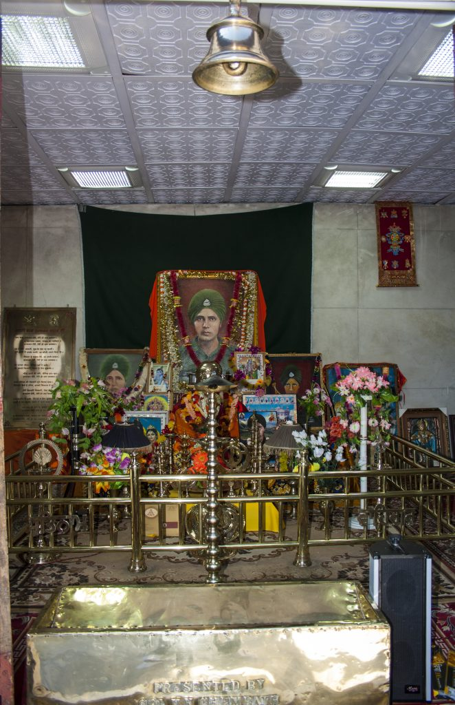 Inside Baba Mandir, Sikkhim