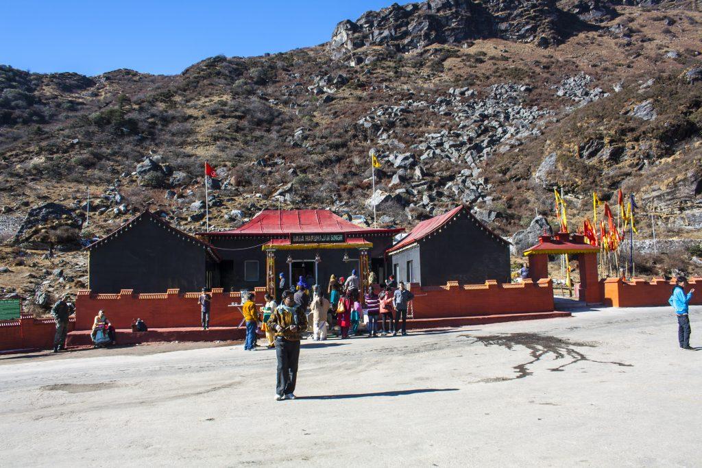 View of Baba Mandir
