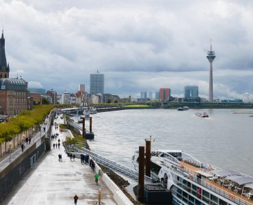 Panoramic views of Düsseldorf