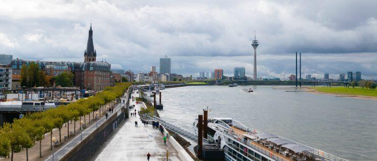 Panoramic views of Düsseldorf