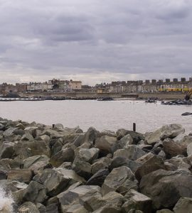 Coastal town of Lowestoft