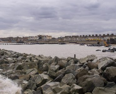 Coastal town of Lowestoft