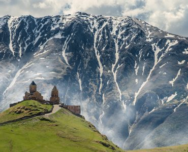 Trinity Gergeti Church, Kazbegi, Georgia
