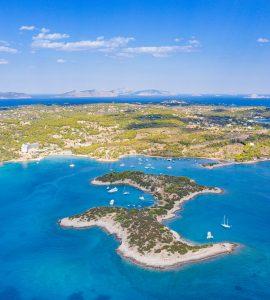 Peloponnese region in Greece
