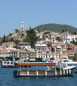 Poros in Greece