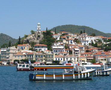 Poros in Greece
