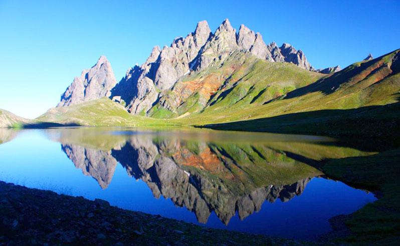 Camping spot at Tobavarchkhili Lake