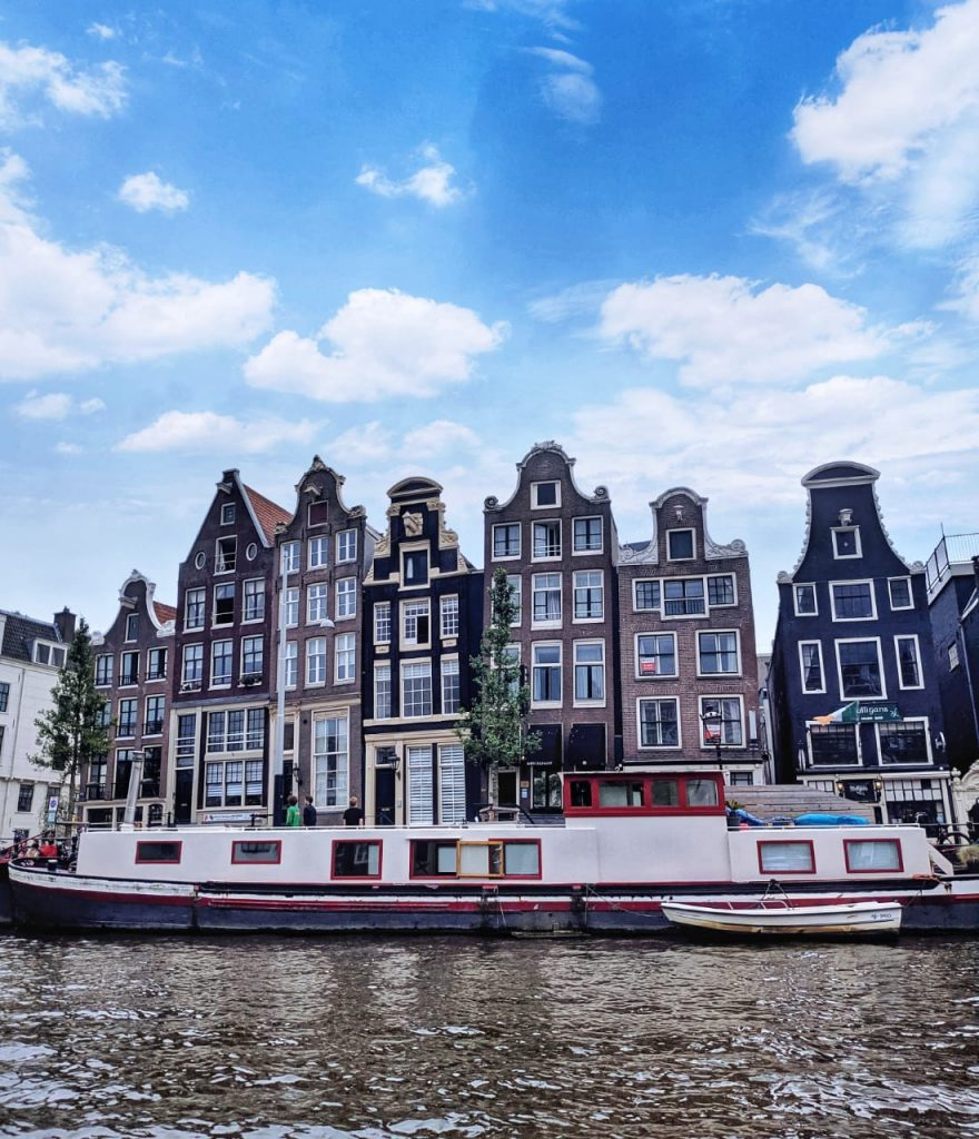 Tall buildings at Amsterdam