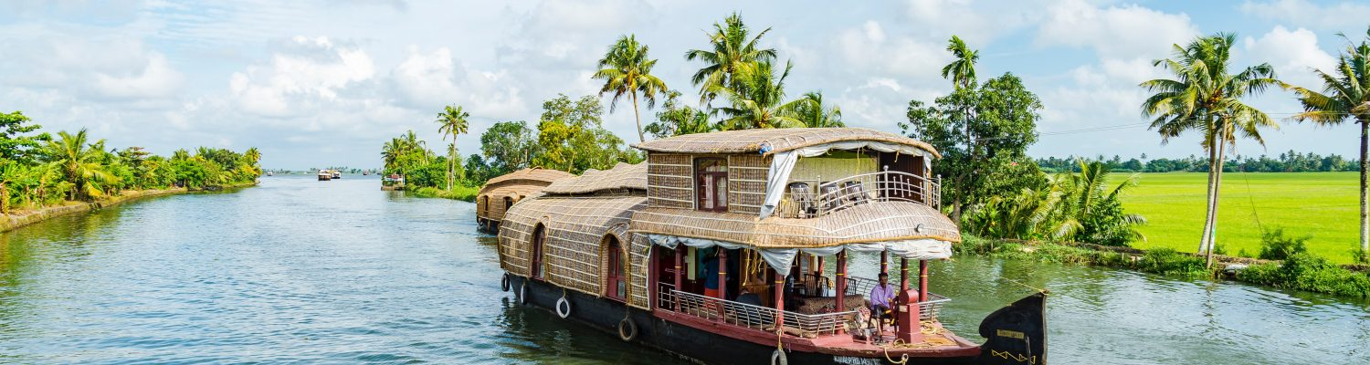 A picture of a boat in Alleppey