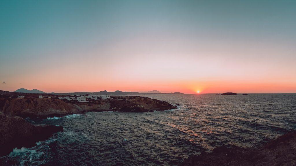 Milos in Greece