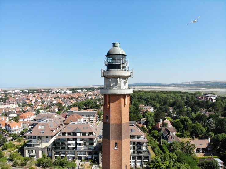 A lighthouse in Le Touquet