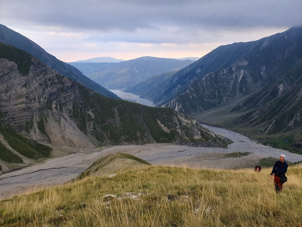 Azerbaijan Caucasus Mountains